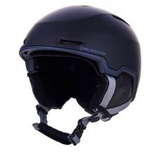helma BLIZZARD Viper ski helmet, black matt/grey matt