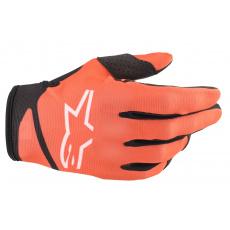 rukavice RADAR 2022, ALPINESTARS, dětské (oranžová/černá)