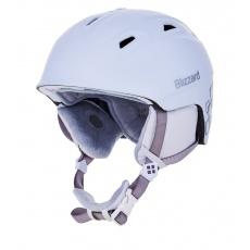 helma BLIZZARD Viva Demon ski helmet, white matt/silver squares