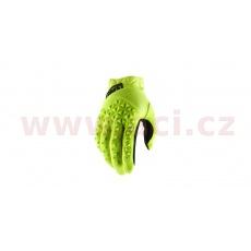 rukavice AIRMATIC, 100% (žlutá/černá)