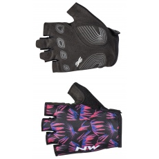 Dámské rukavice Northwave Active Woman Short Fingers Glove Black/Purple