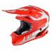Dětská moto přilba JUST1 J32 PRO KICK bílo/červená