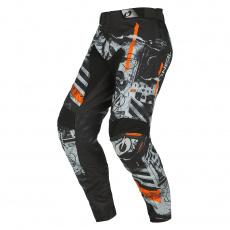 Kalhoty O´Neal Mayhem SCARZ černá/šedá/oranžová