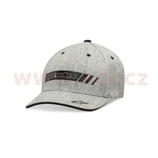kšiltovka GTN-1 HAT, ALPINESTARS (šedá)