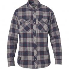 Pánská košile Fox Traildust 2.0 Flannel Heather Graphite