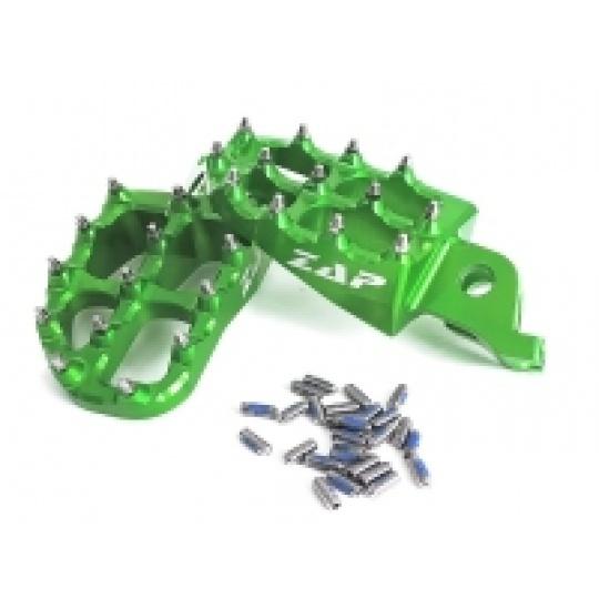 stupačky KXF250 06-/450 07- zelené