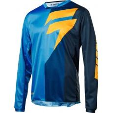 Pánský MX dres SHIFT Whit3 Tarmac Jersey 2018 - blue
