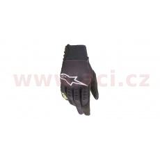 rukavice SMX-E 2021, ALPINESTARS (černá/žlutá fluo)