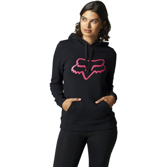 Dámská mikina Fox Boundary Pullover Fleece Black/Pink