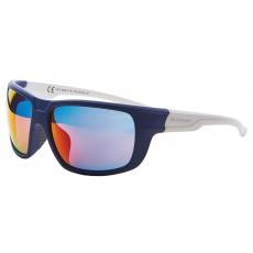 sluneční brýle BLIZZARD sun glasses PCS708130, rubber dark blue, 75-18-140