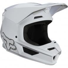 Pánská přilba Fox V1 Plaic Helmet, Ece White
