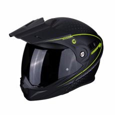 Moto přilba SCORPION ADX-1 HORIZON matná černo/neonově žlutá