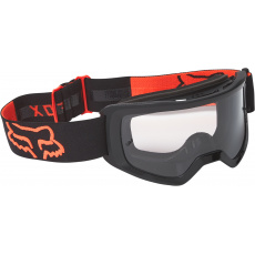 MX brýle Fox Main Stray Goggle OS Black/Orange