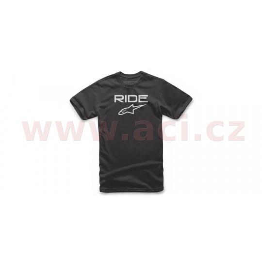 triko RIDE 2.0 TEE krátký rukáv, ALPINESTARS (černé/bílé)*