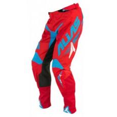 Motokrosové kalhoty ALIAS MX A1 červené/cyan 2058-298