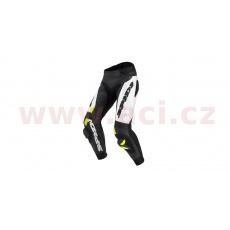 kalhoty RR PRO WARRIOR, SPIDI (černé/bílé/žluté fluo)