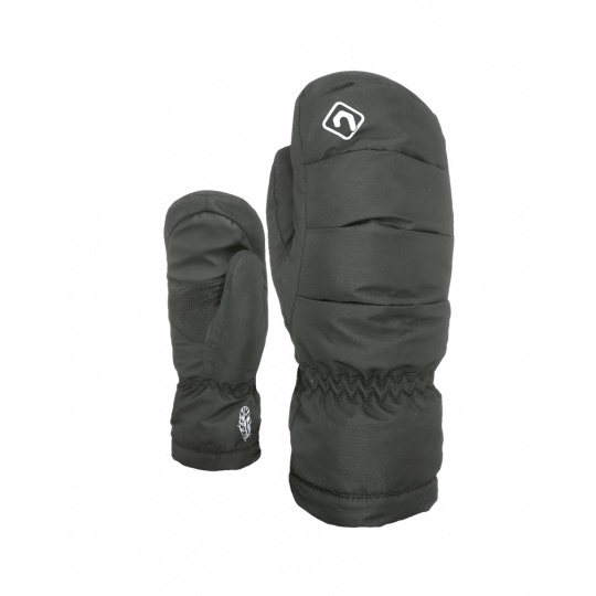Dětské rukavice Level Rainbow Down JR Mitt Black 7 Jr