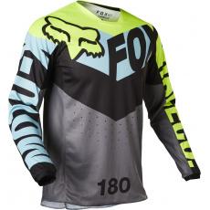 Pánský MX dres Fox 180 Trice Jersey Teal