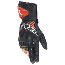 rukavice GP TECH 2 2022, ALPINESTARS (černá/bílá/červená fluo)