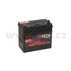 45Ah baterie, 340A, levá A-TECH 238x129x225 (úzké póly)