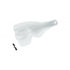 strhávací slídy plexi pro brýle SCOTT řady HUSTLE/TYRANT, SCOTT - USA (20 vrstev v balení, čiré)