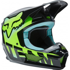 Pánská přilba Fox V1 Trice Helmet, Ece Teal