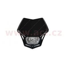 UNI přední maska včetně světla V-Face, RTECH (černá)