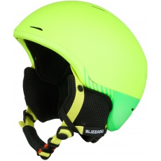 helma BLIZZARD Speed ski helmet junior, neon yellow matt/neon green matt