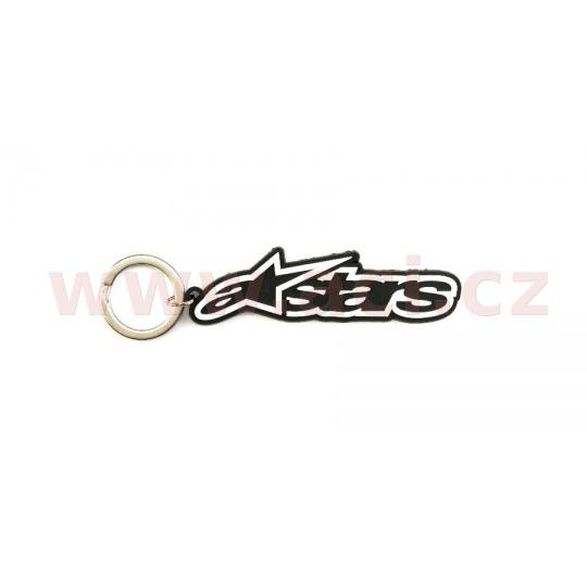 klíčenka BLAZE KEY FOB, ALPINESTARS (černá/bílá)