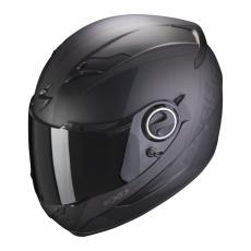 Moto přilba SCORPION EXO-490 PACE matná černo/stříbrná