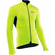 Pánská cyklo bunda Northwave Ghost H2O Jacket Total Protection Ss Yellowfluo