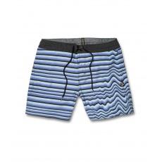 "Pánské plavky Volcom Aura Stoney 16"" Vintage Blue"