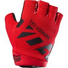 Pánské rukavice Fox Ranger Gel Short Glove Red/Black
