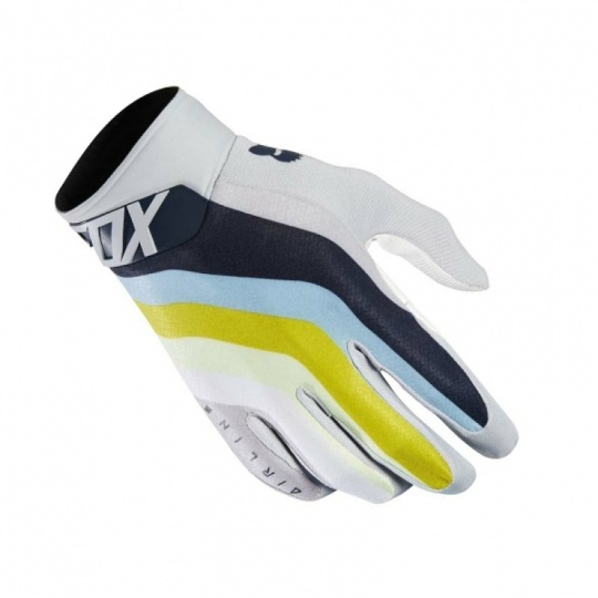 Pánské MX rukavice Fox Racing Airline Draft Glove Lt Gry