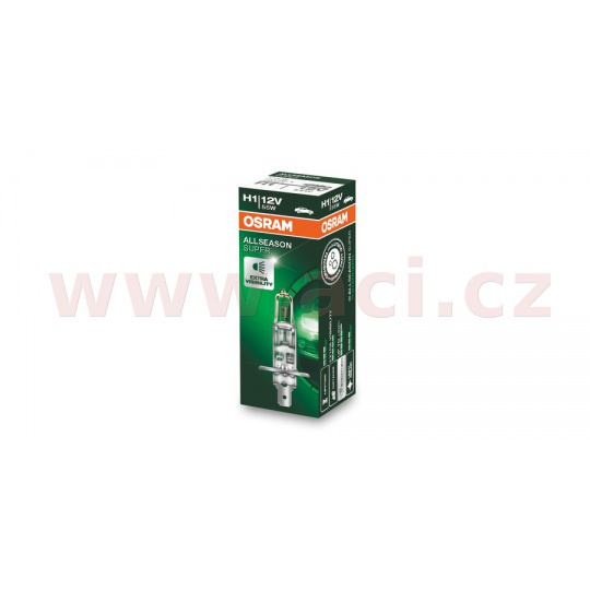 žárovka H1 55W (patice P14,5s) OSRAM ALLSEASON SUPER