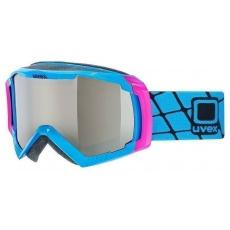 lyžařské brýle UVEX G.GL 100, cyan shiny/litemirror silver (4026)