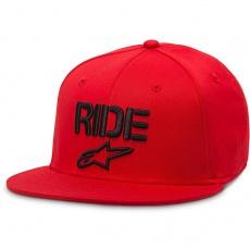 Alpinestars Circuit Ride Flat hat Flexfit kšiltovka Red S/M