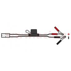 "prodloužený kabel s klipy typu ""krokodýl"", OXFORD - Anglie (konektor standard, délka kabelu 0,5 m)"