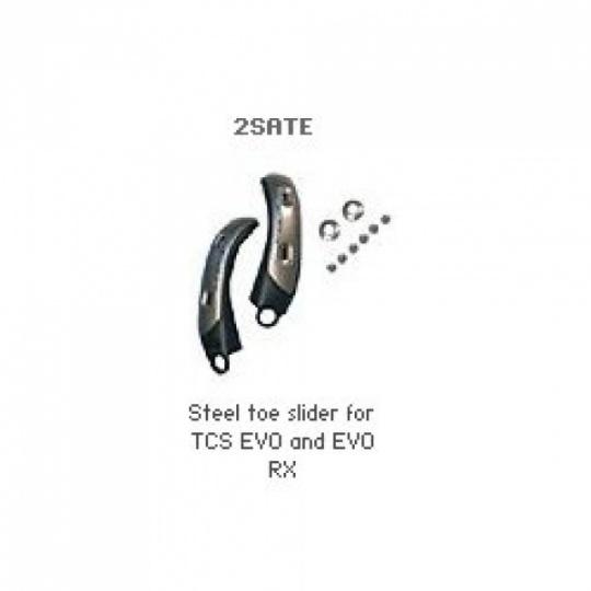 TCX TCS EVO, EVO RX boční slidery špice kovový 2SATE