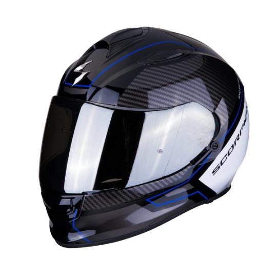 Moto přilba SCORPION EXO-510 AIR FRAME černo/modro/bílá