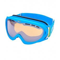 lyžařské brýle BLIZZARD Ski Gog. 905 MDAVZFO, neon blue matt, amber2-3, blue mirror, photo