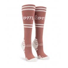 Dámské ponožky Volcom Sherwood Sock Mauve