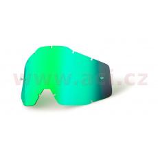 plexi Racecraft/Accuri/Strata, 100% (zelené chrom, Anti-fog) *