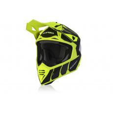 ACERBIS motokros přilba  X-TRACKčerná/fluo žlutá