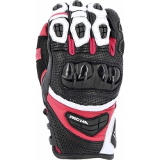 Dámské moto rukavice RICHA STEALTH černo/růžové
