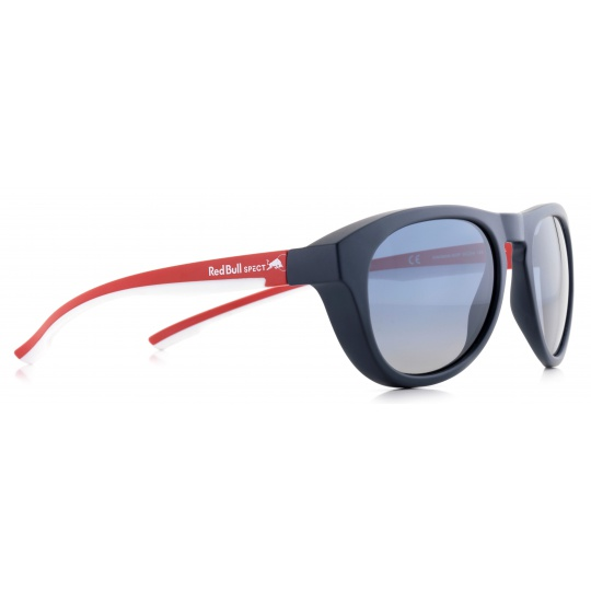sluneční brýle RED BULL SPECT Sun glasses, KINGMAN-004P, brown, red, smoke with red mirror POL, 51-19-145