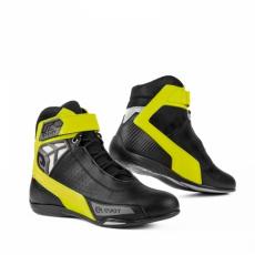 Moto boty ELEVEIT STUNT AIR černo/neonově žluté
