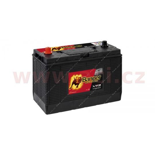 105Ah baterie 1000A BANNER pro užitková vozidla CATERPILLAR 330x171x218(241)
