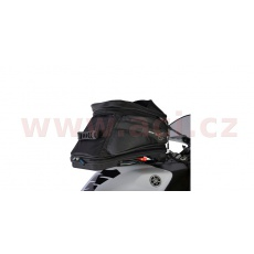 tankbag na motocykl Q20R Adventure QR, OXFORD (černý, s rychloupínacím systémem na víčka nádrže, objem 20 l)