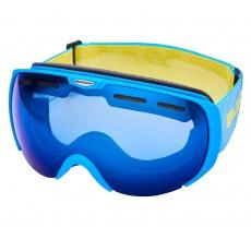 lyžařské brýle BLIZZARD Ski Gog. 921 MDAVZSO, neon blue matt, smoke2, blue mirror